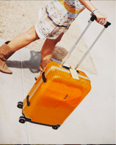 Valise Samsonite orange